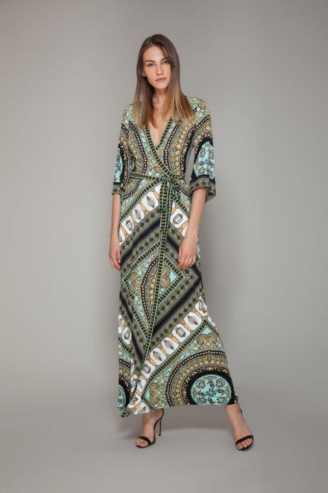 Hale Bob Lillith Lang omslags kjole