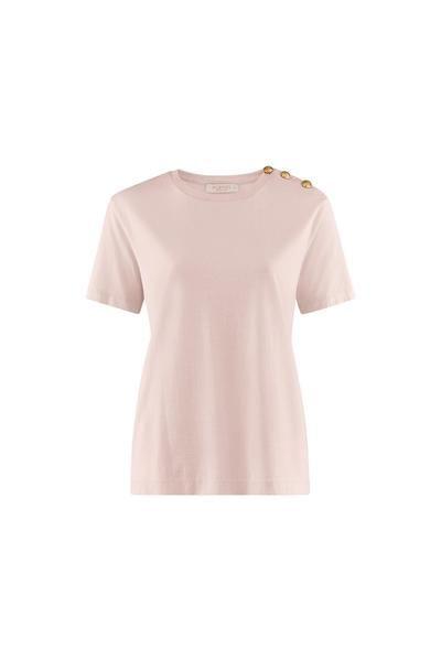 Busnel Toulon T shirt m Gull Knapper