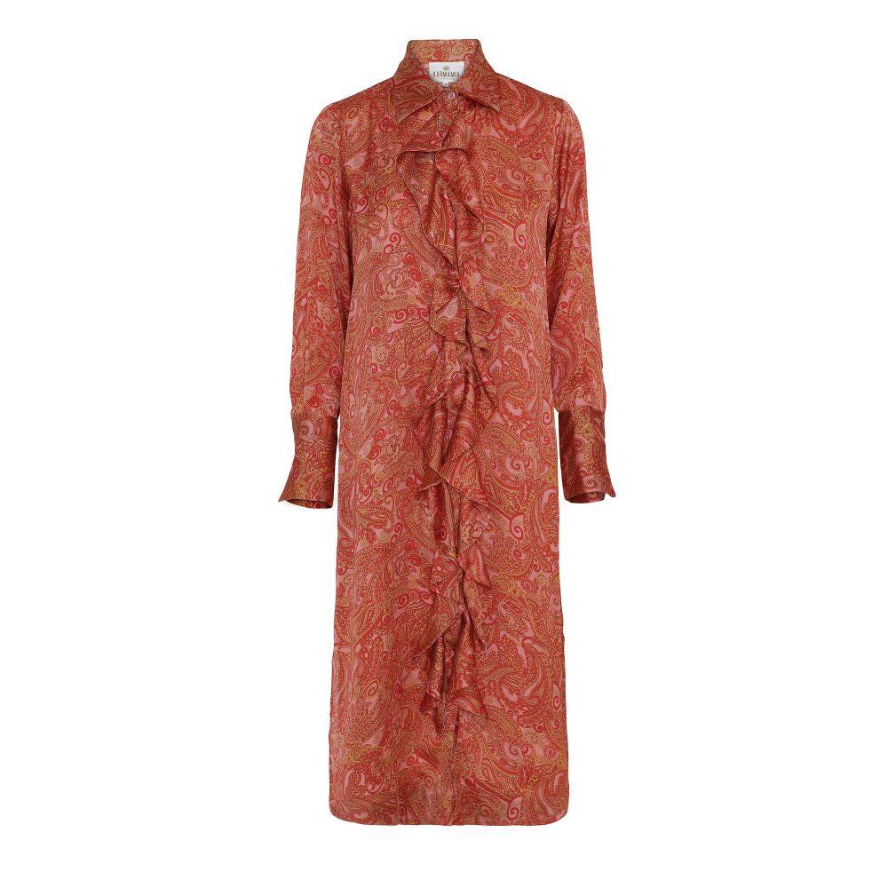 Karmamia Paisley Ruffle Kimono