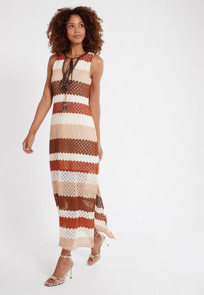 Ana Alcazar Midi Dress Spuna