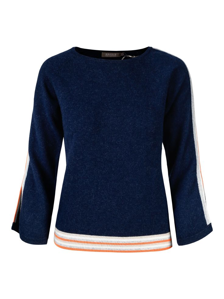 Brodie Cashmere Brooklyn Jumper