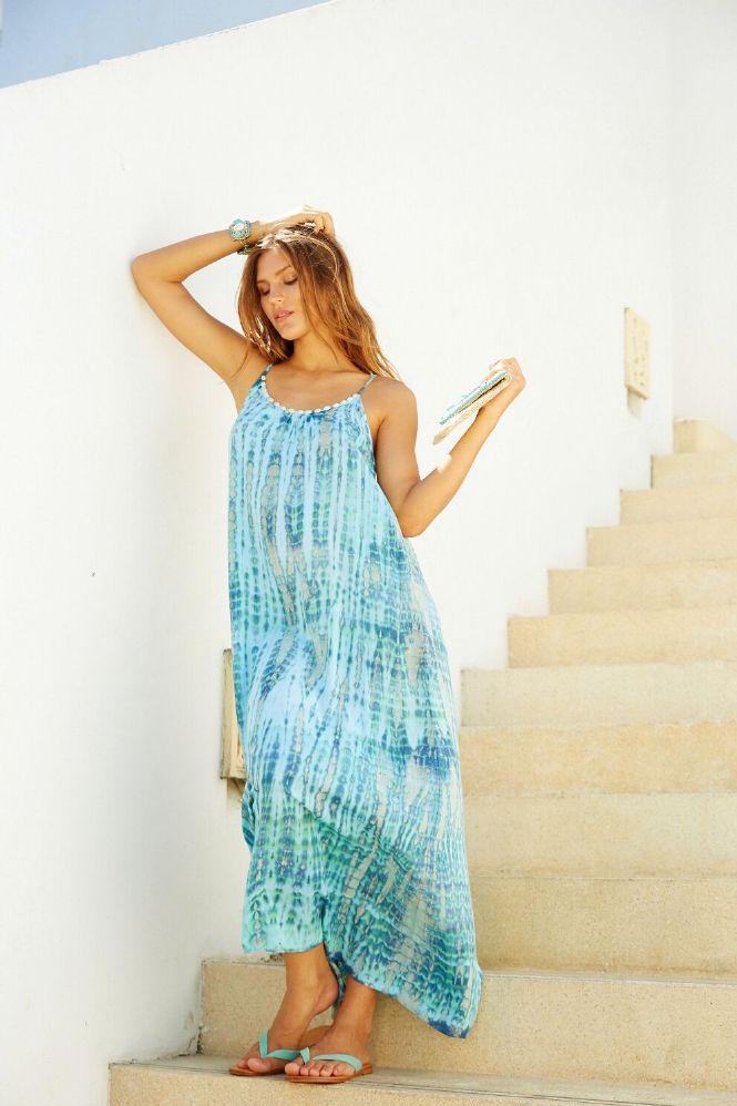 Hot Lava Dress Anna Tie Dye
