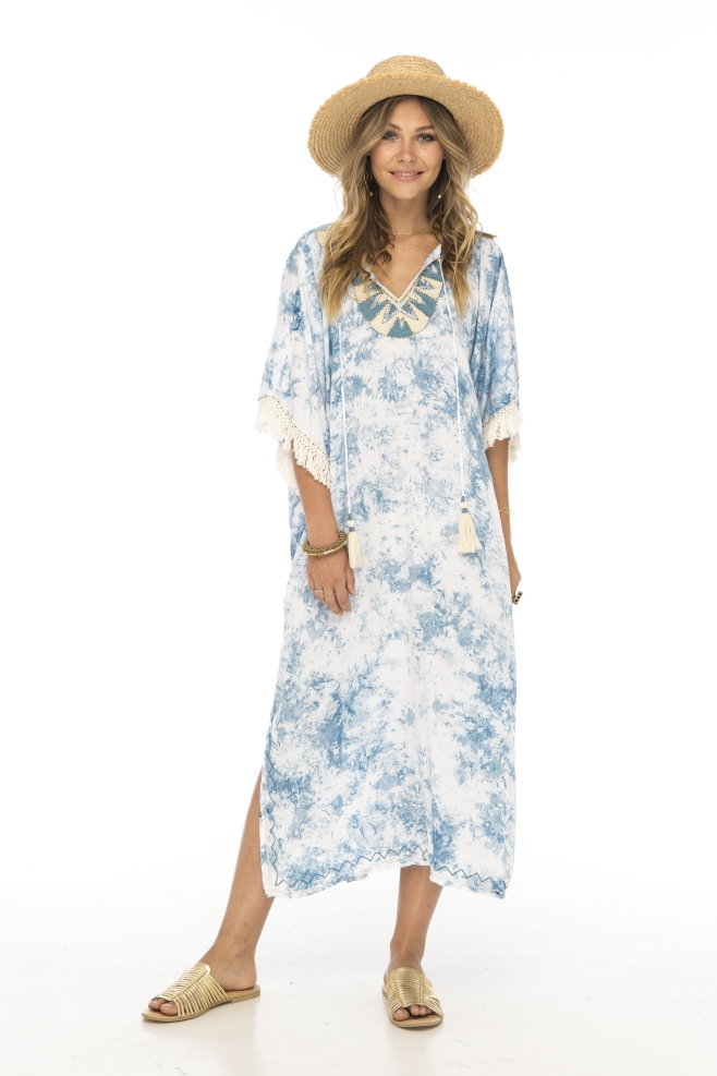 Skemo Sunset Long Kaftan