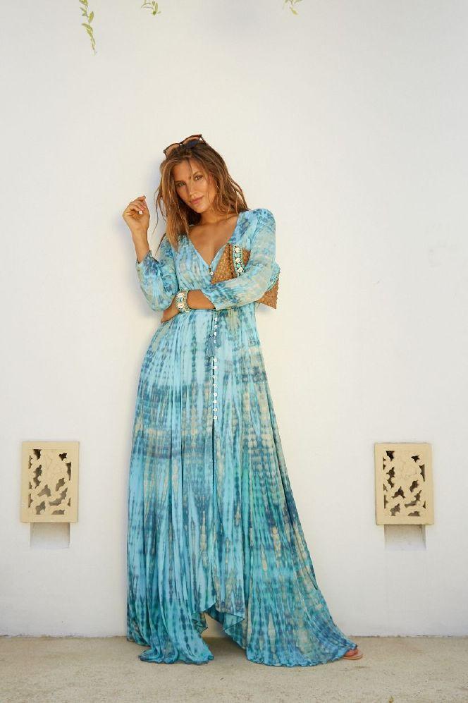 Hot Lava Dress Long Mila Blue Moon