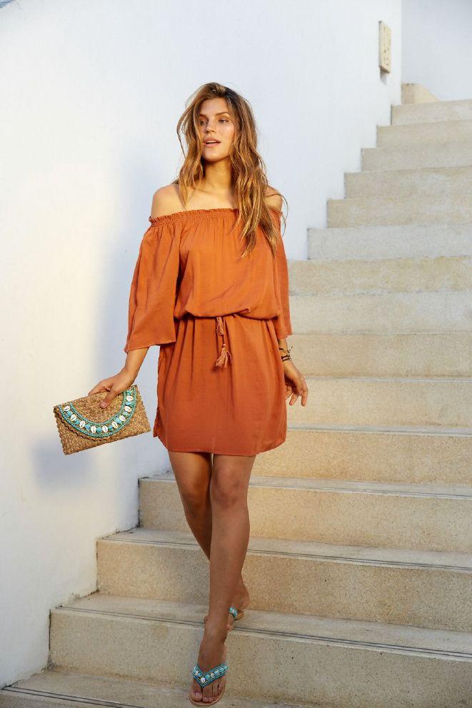 Hot Lava Bibi Short kjole