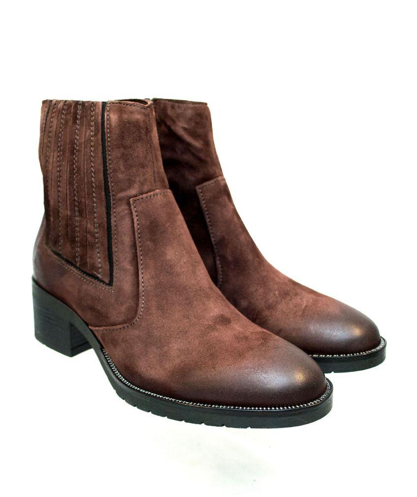 Mjus Bacio Semsket ankel boots