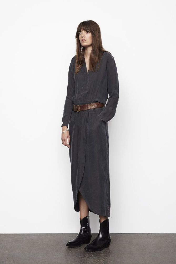 Rabens Saloner Alfie Wrap Over Dress