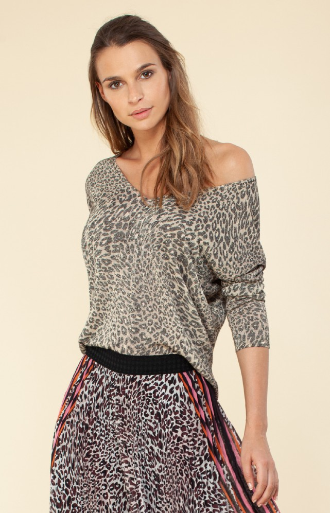 Hale Bob Juliet Lurex Sweater