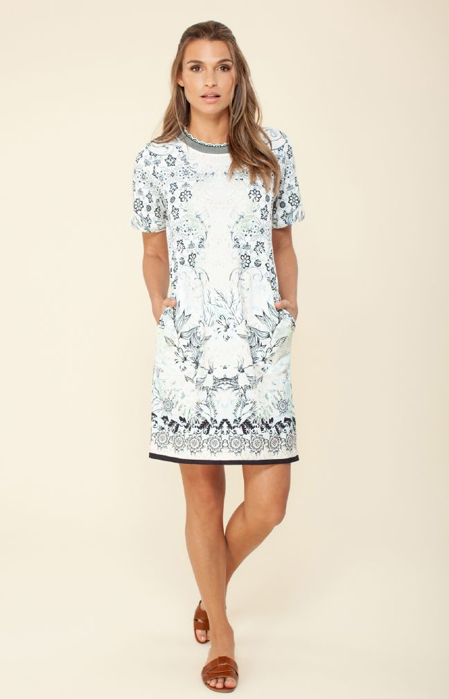 Hale Bob Veronica Jersey Dress