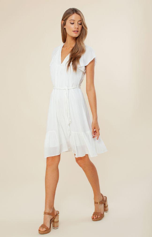 Hale Bob Gabriella Crinkle Gauze Dress