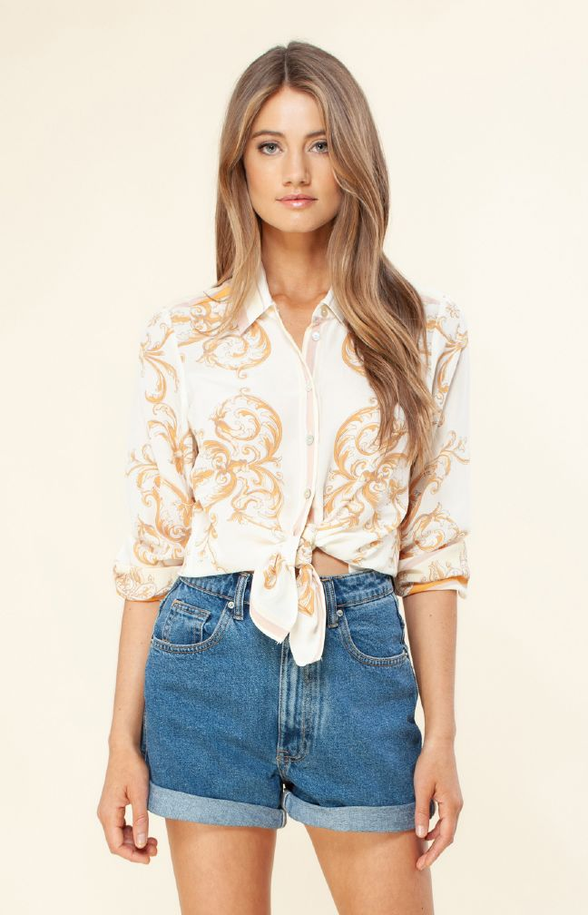 Hale Bob Grazia Silk Top