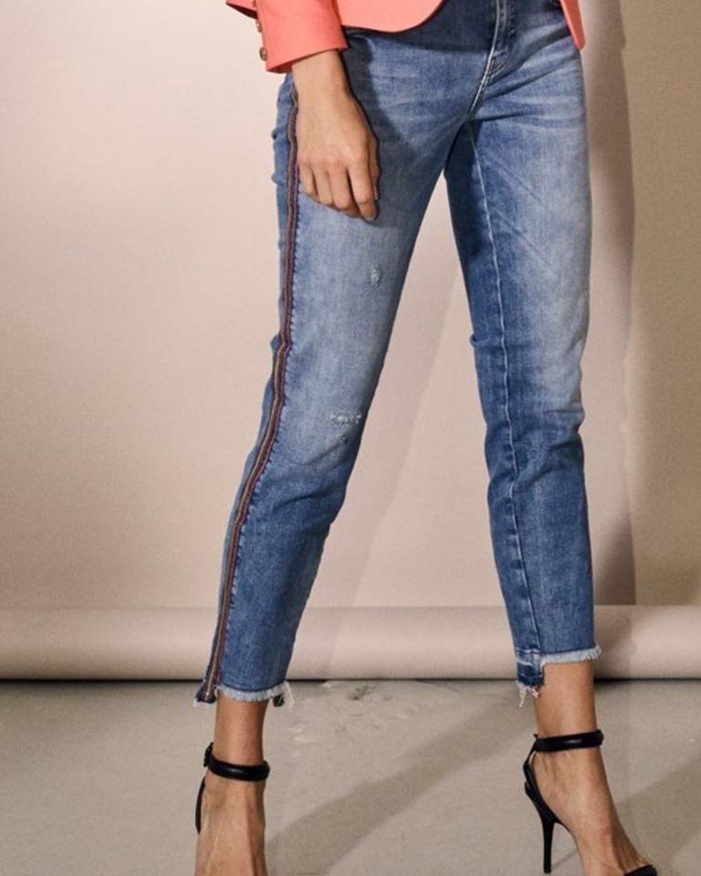 Mos Mosh Sumner Faith Jeans m striper