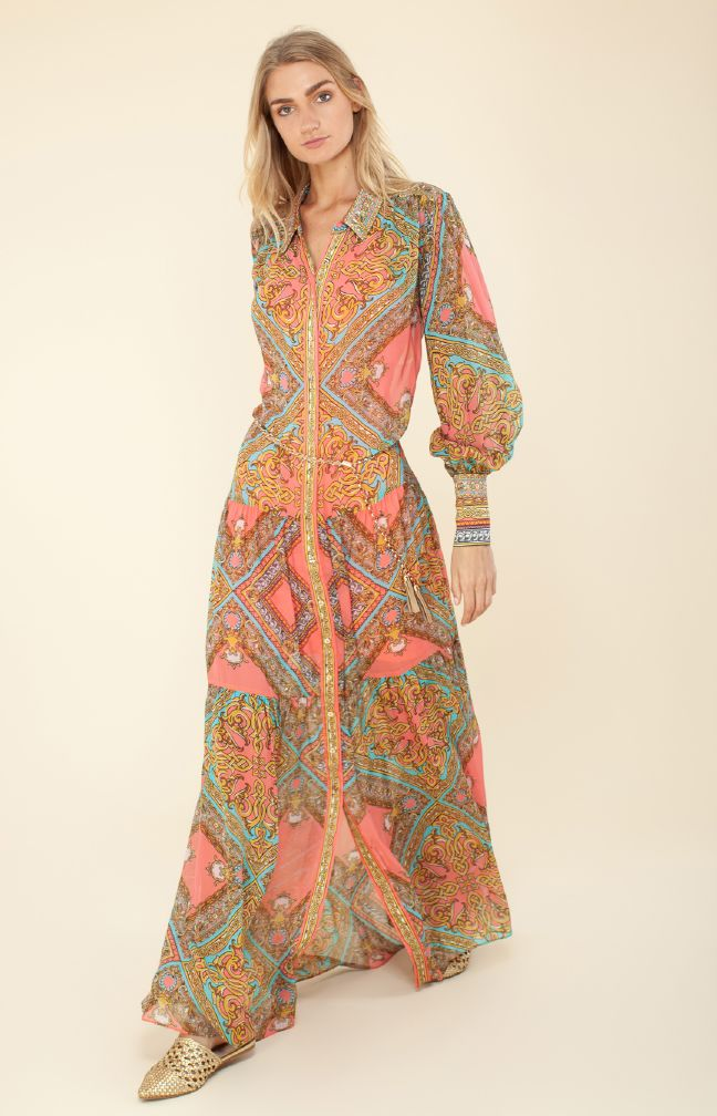 Hale Bob Helena Maxi Dress