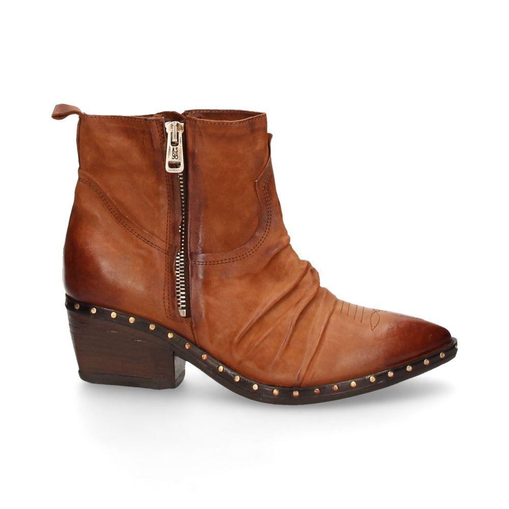 A.S.98 Satur Cowboy Ankle Boot