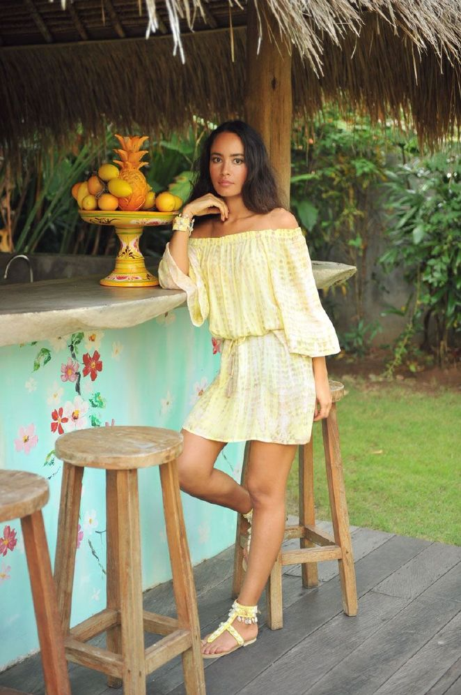 Hot Lava Dress Bibi Moonstone
