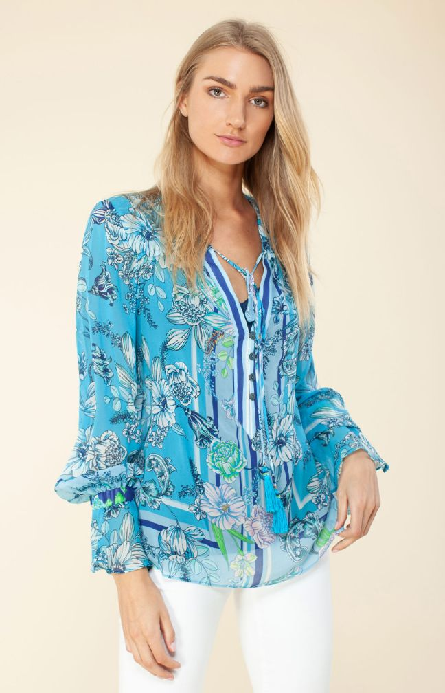 Hale Bob Allie Silk Top