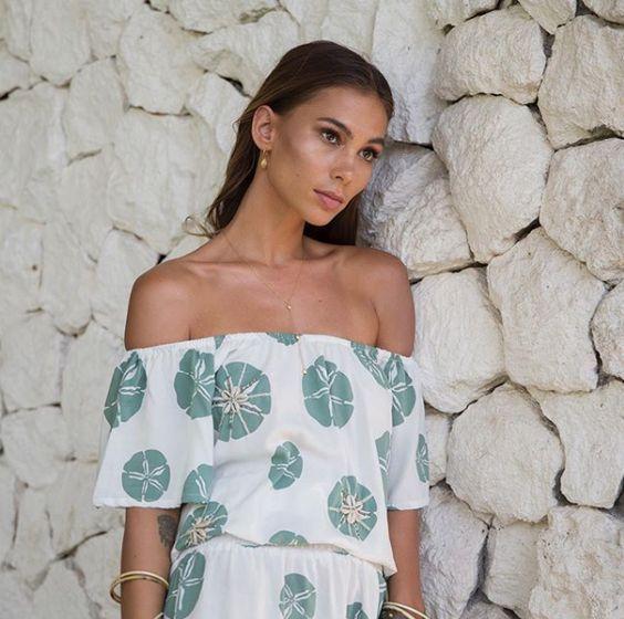 Skemo Seablue Long Dress
