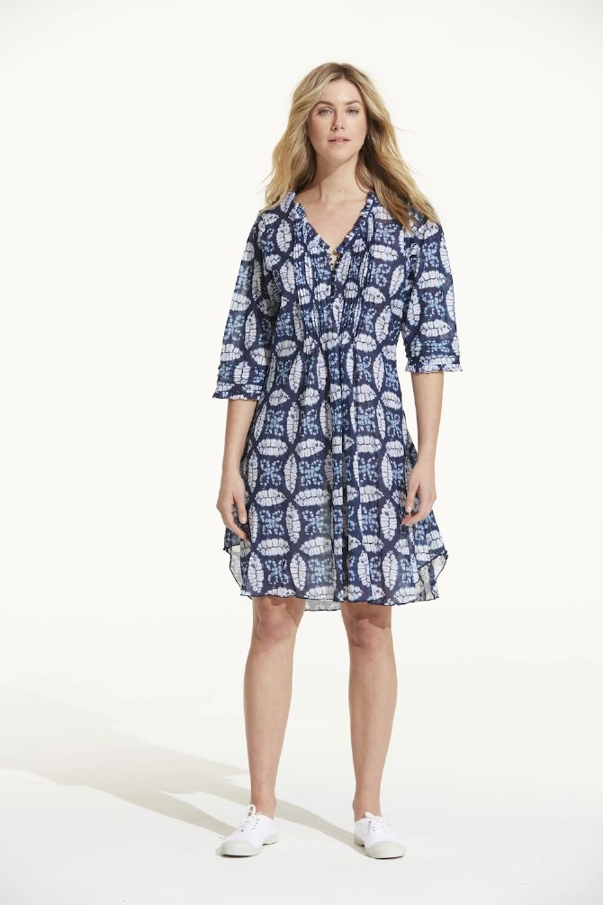 OneSeason Poppy Dress Middy Morocco