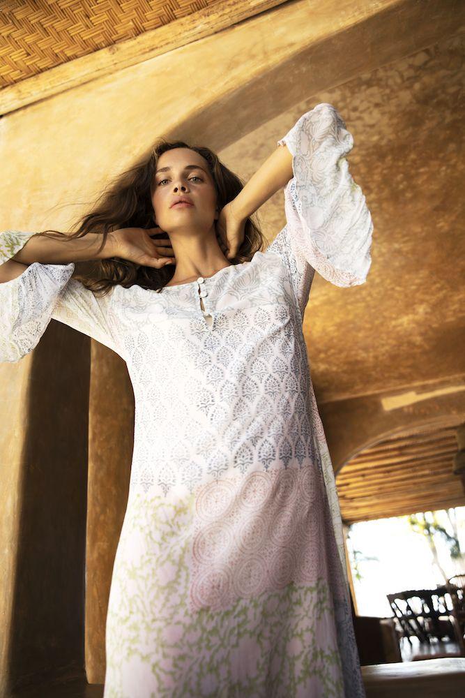 OneSeason Belle Dress Raj Patchwork