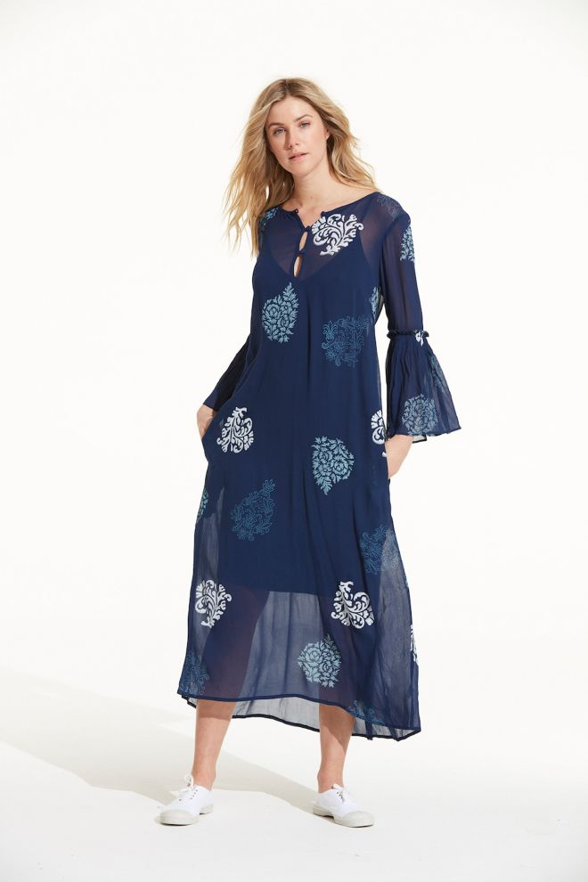 OneSeason Belle Dress Raj Paisley