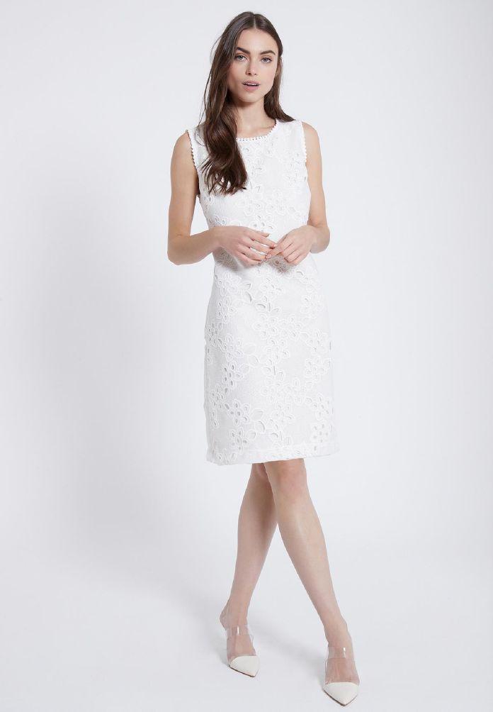 Ana Alcazar Neckline Dress Zedyl