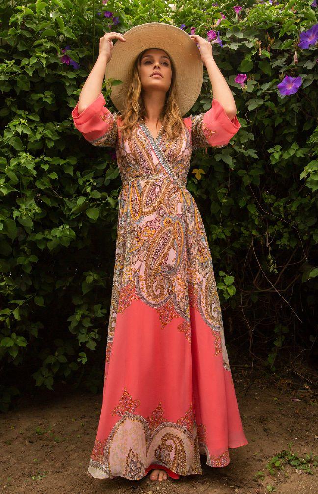 Hale Bob Allegra Wrap Dress