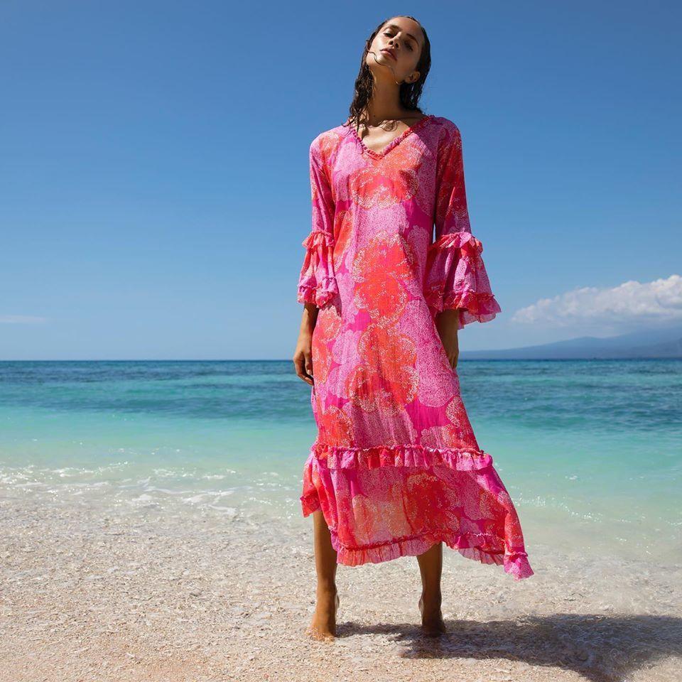 One Season Indi Long Dress Ibiza