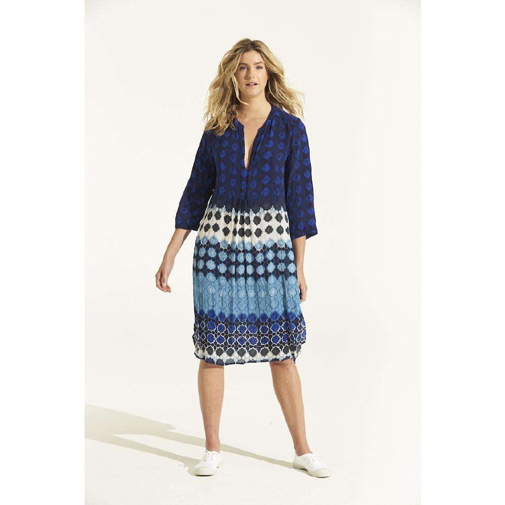 One Season Papy Dress Bermuda Blue