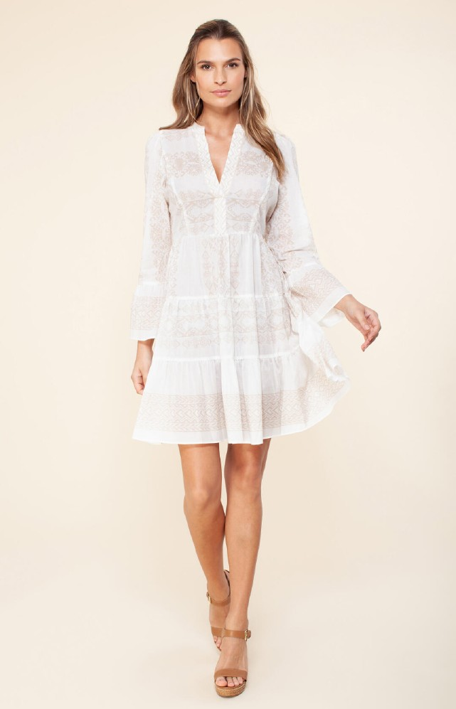 Hale Bob Tessa Voile Dress
