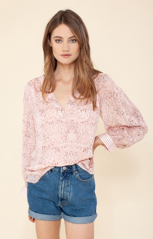 Hale Bob Tia Georgette Top