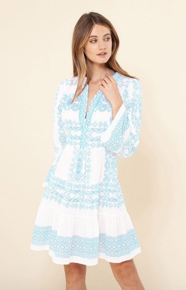 Hale Bob Tessa Voile Dress
