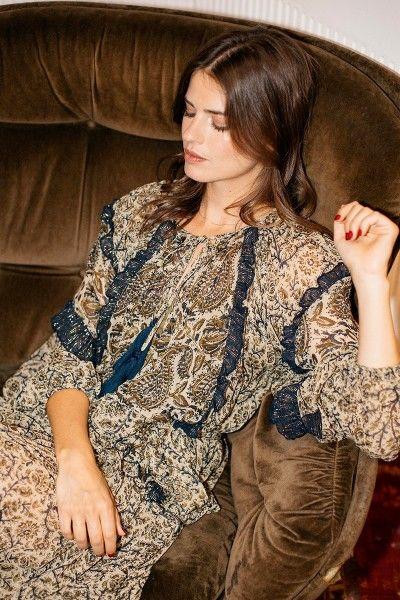Miss June Zahara lang kjole