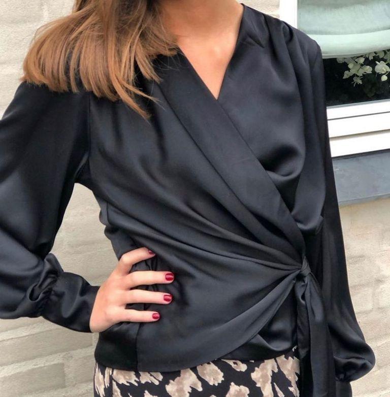 Karmamia Ines wrap bluse