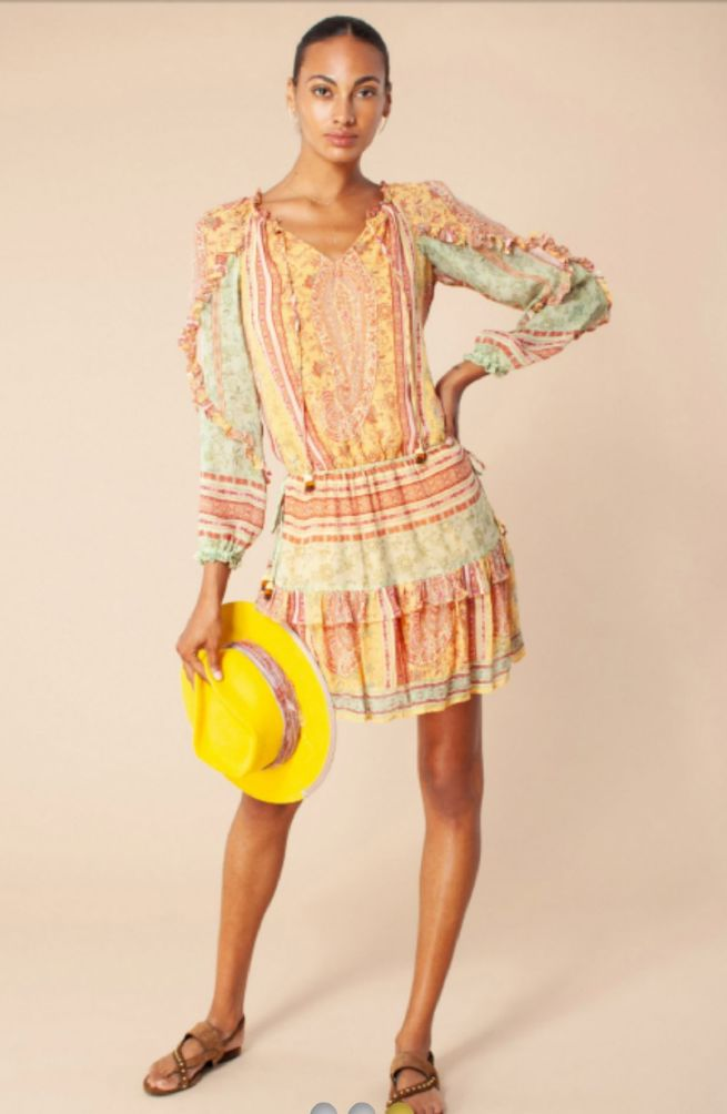 Hale Bob Anita Silke kjole