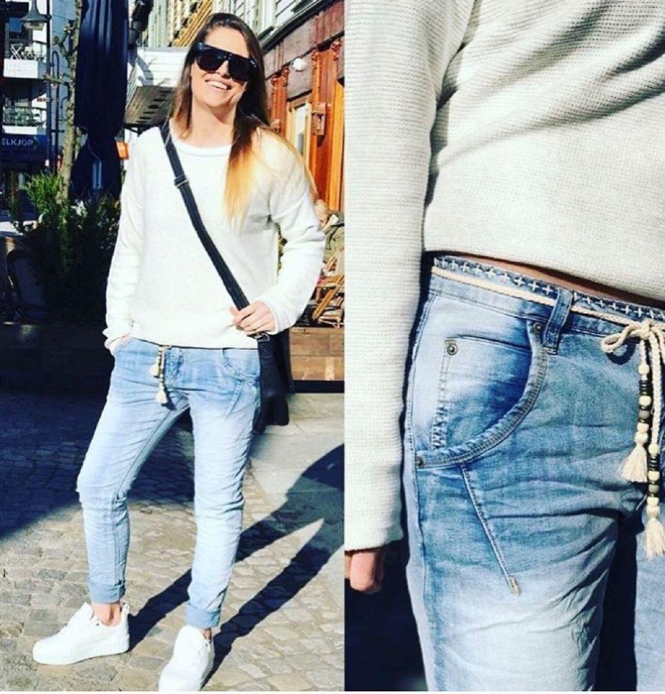 Bianco Jude Boyfriend jeans