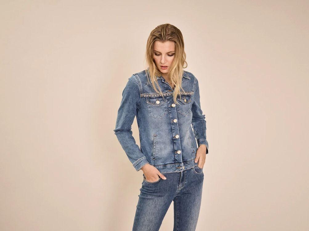 Mos Mosh Reese Jeans Jakke