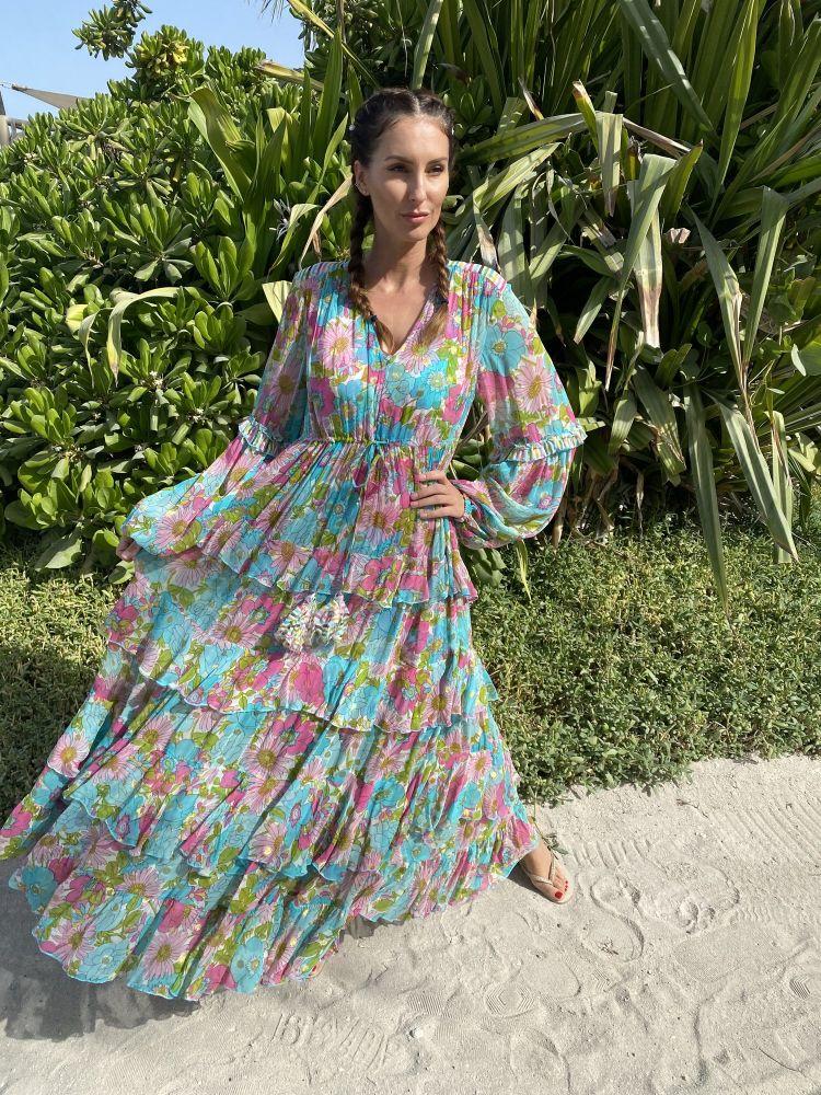 Miss June Baila Lang kjole