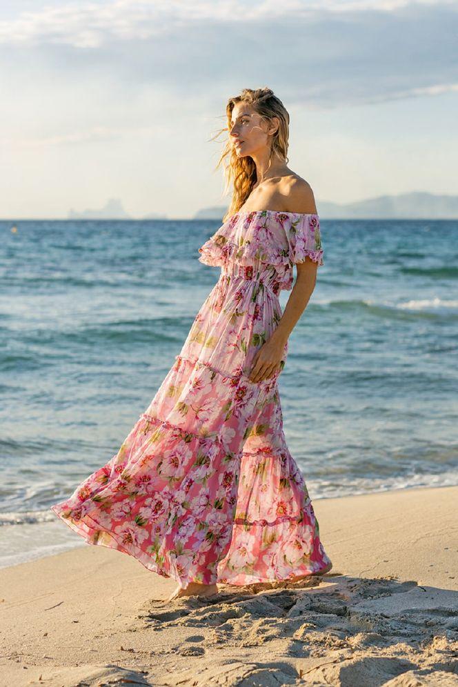 Miss June Roses  Kjole