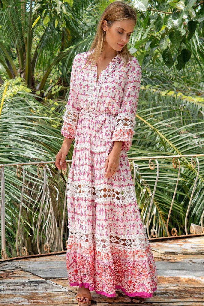 Miss June Portobello lang kjole