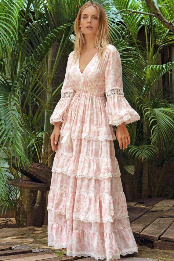 Miss June Alpha Lang kjole