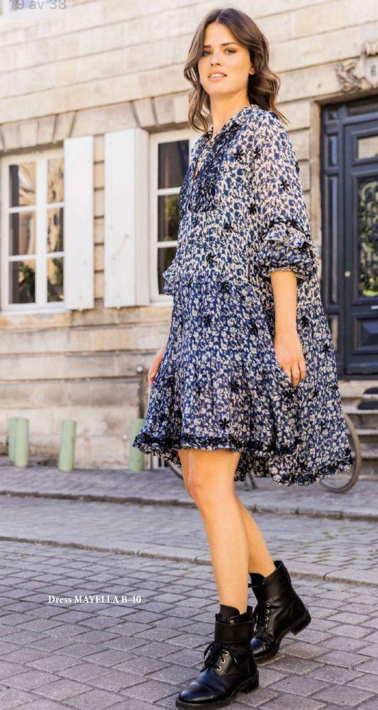 Miss June Mayella kort kjole