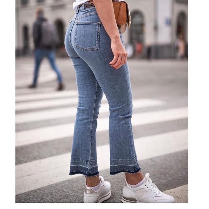 Denim Studio Kickflare jeans