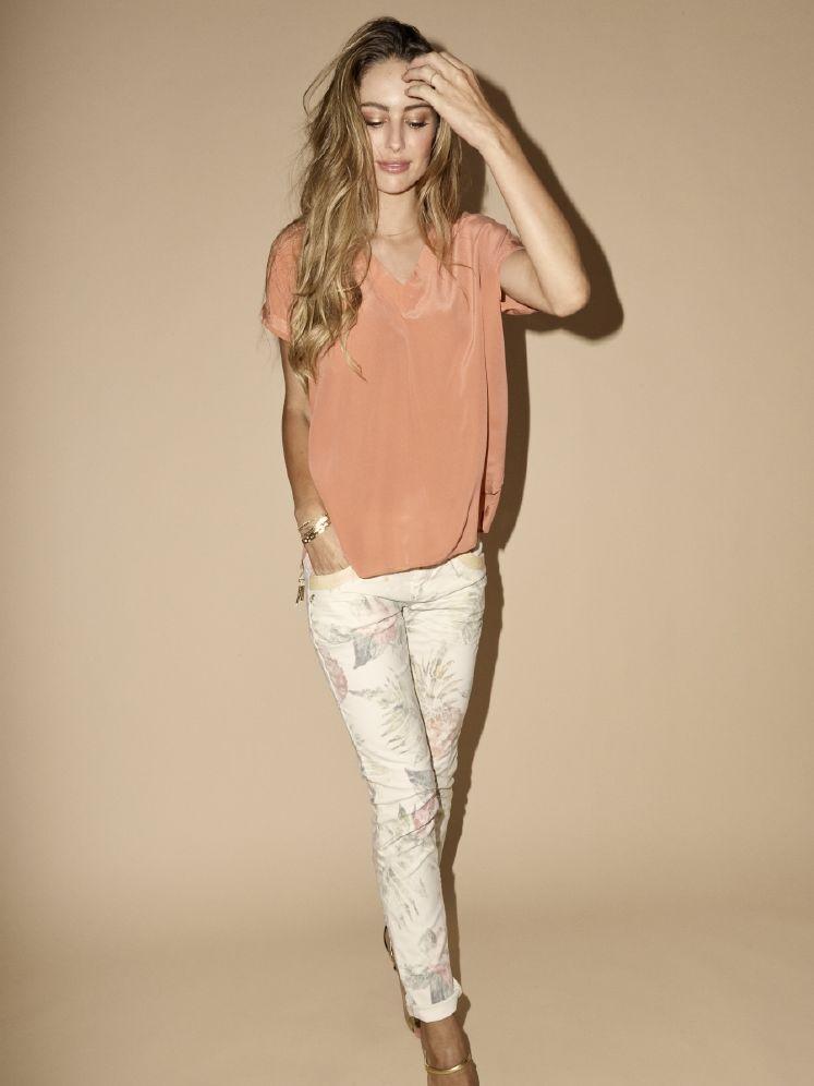 Mos Mosh Naomi Glam Tropic Bukse