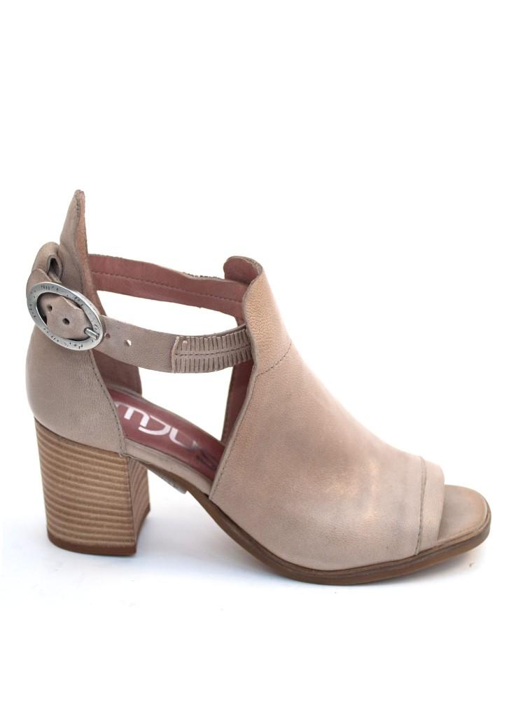 Mjus høyhælt sandal, nappa