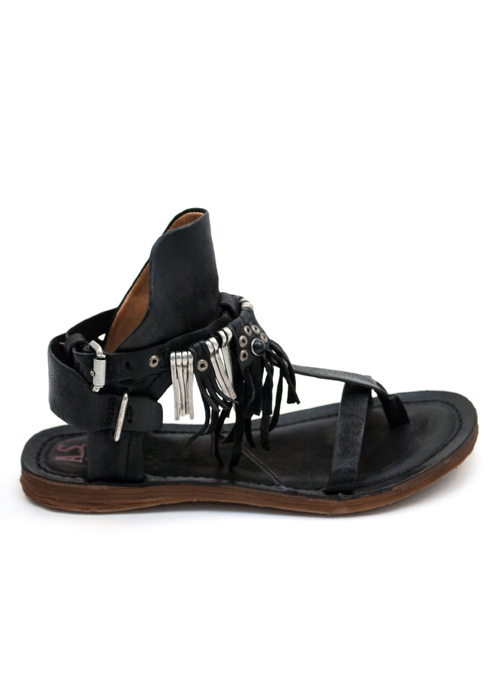 A.S. 98 Sandal m Frynser