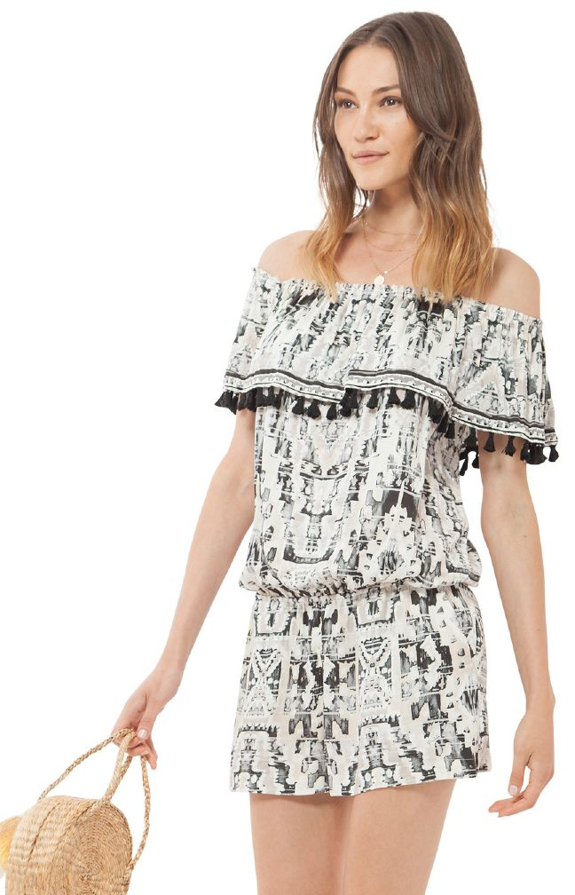 Hale Bob playsuit off shoulder
