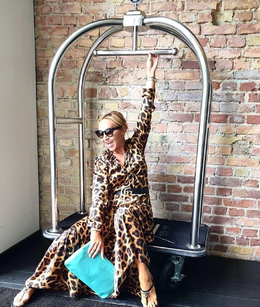 Karmamia Phoebe Dress - Leopard